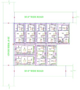 LITTLE ENGLAND phase - 1 - First Floor Plan